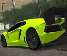 Süper Araba Park Et